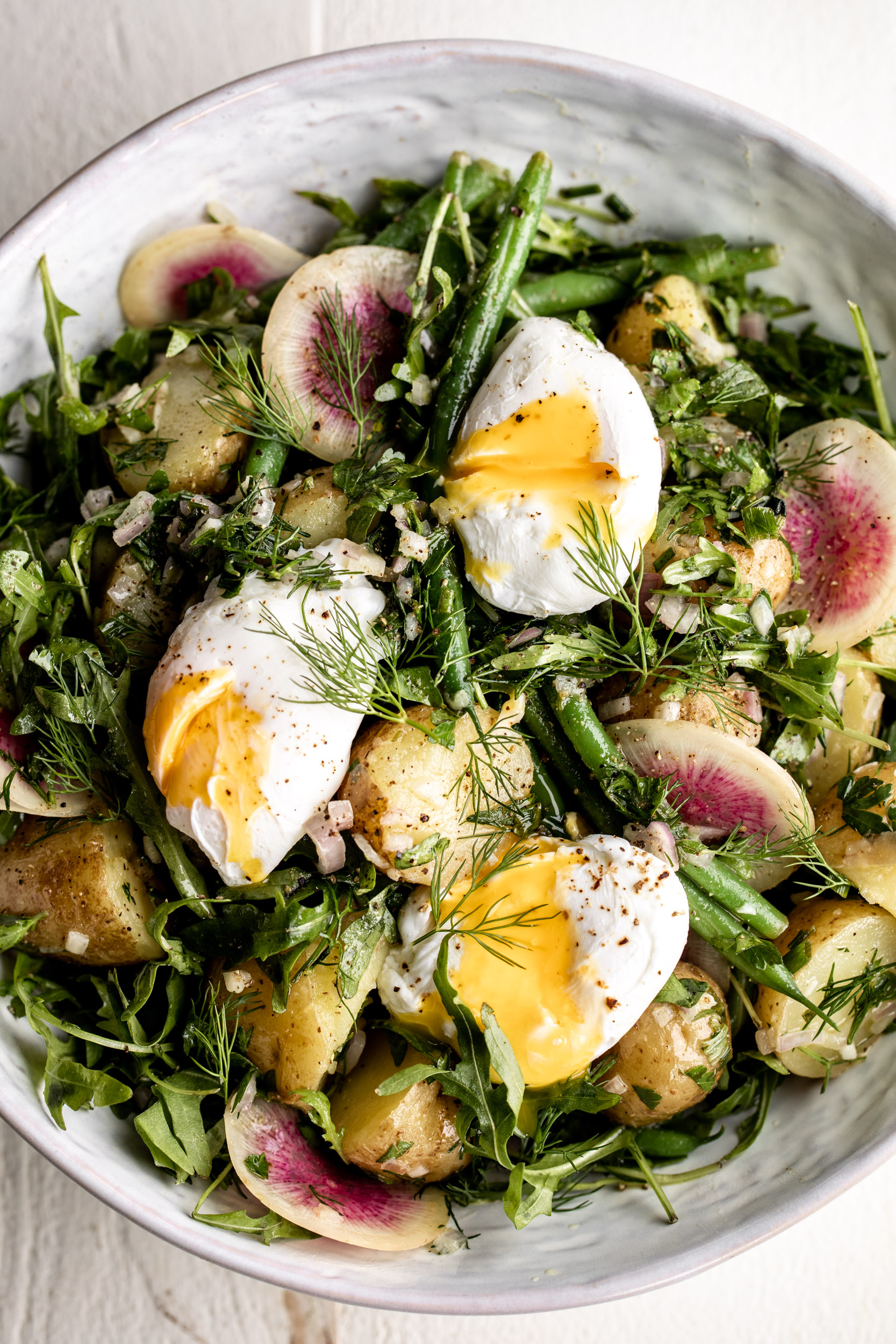 French Potato Salad with Green Beans | 17 Recipes for Your Easter Celebration