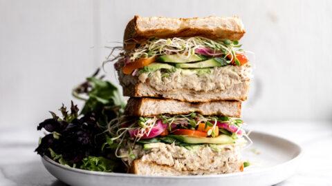 Confit Tuna Sandwich