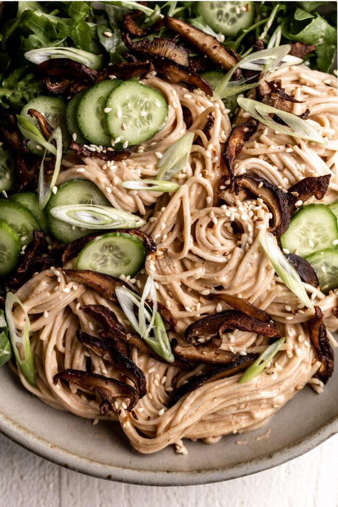 Chilled Soba Noodle Salad recipe