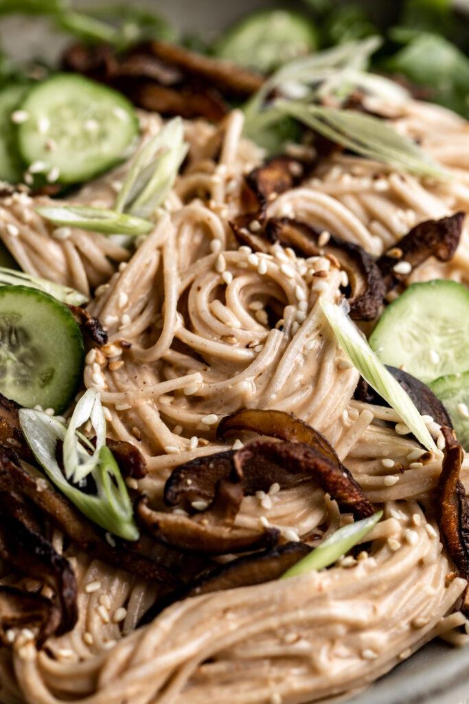 how to make Chilled Soba Noodle Salad