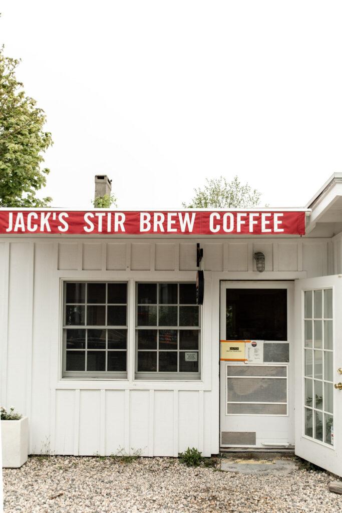 Stir-brew coffee