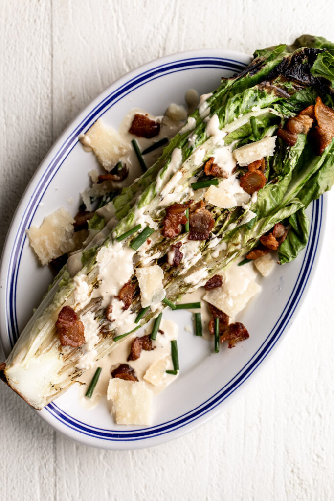 How to Make Grilled Caesar Salad