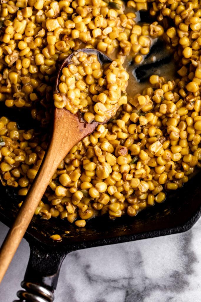 Coconut Creamed Corn Recipe