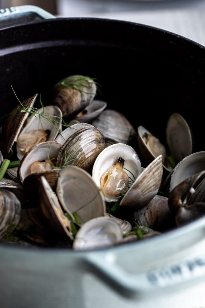 Recipe ideas for clams