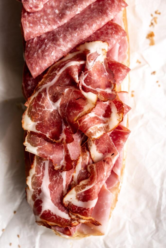 cured Italian meats