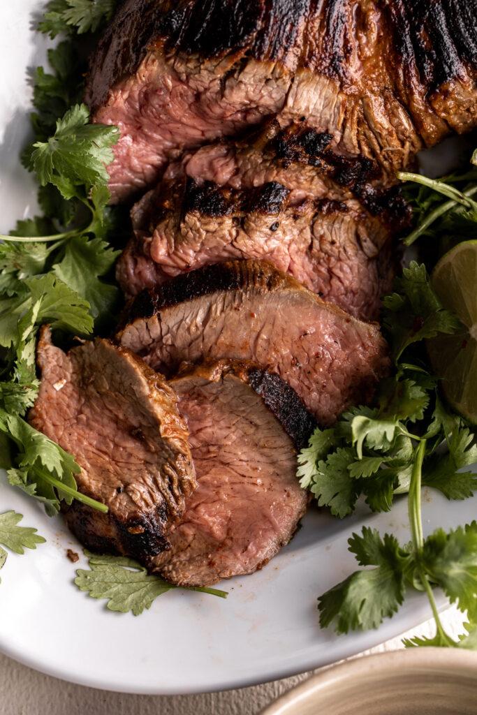 swift meats Tri-tip steak marinated