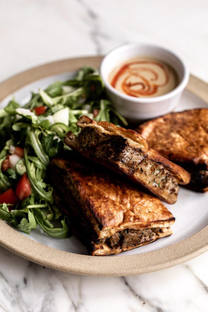 Arayes Lamb Sandwiches Recipe