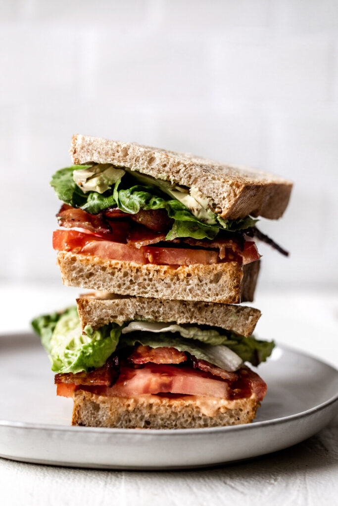 BLT with Spicy Mayo and Avocado | 21 Recipes Using Juicy Summer Tomatoes
