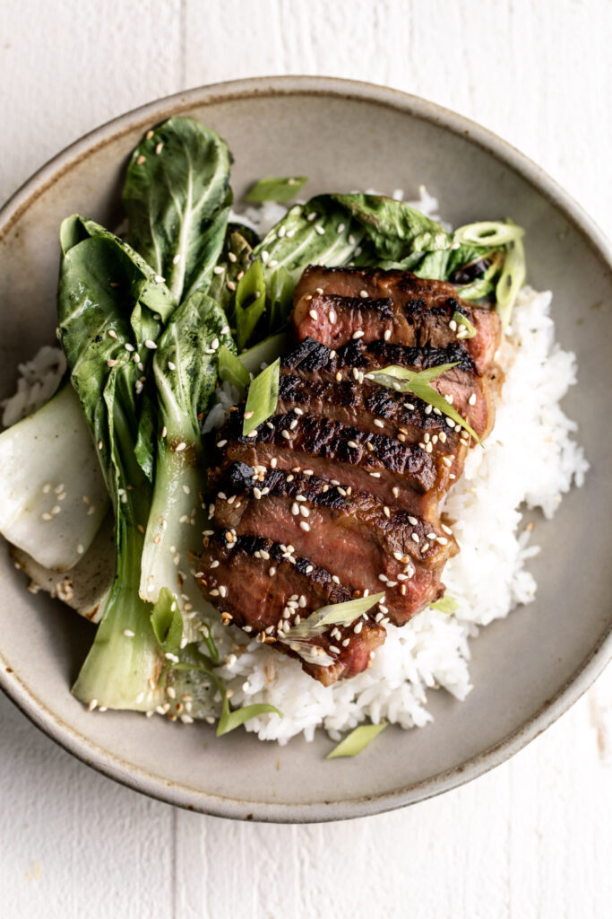 How to Make Miso Marinated Grilled Ribeye