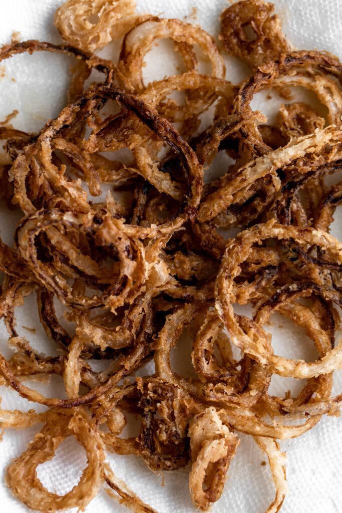 fresh onion rings