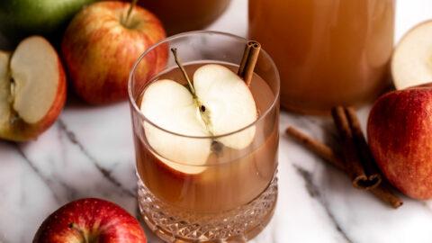 Homemade Spiced Apple Cider