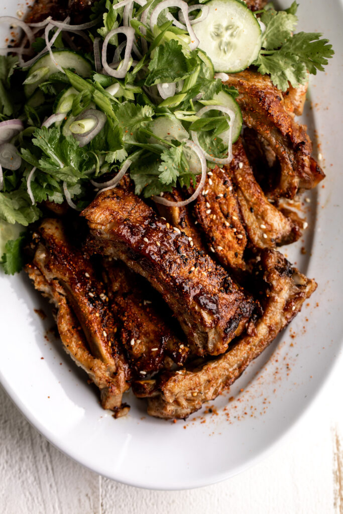 Oven baked ribs recipe