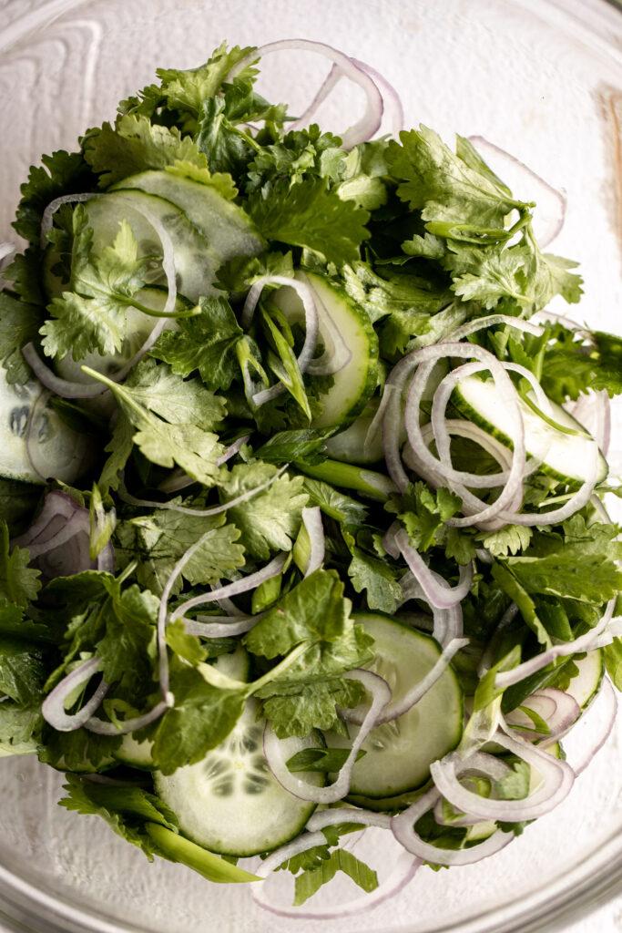 Cucumber Herb Salad