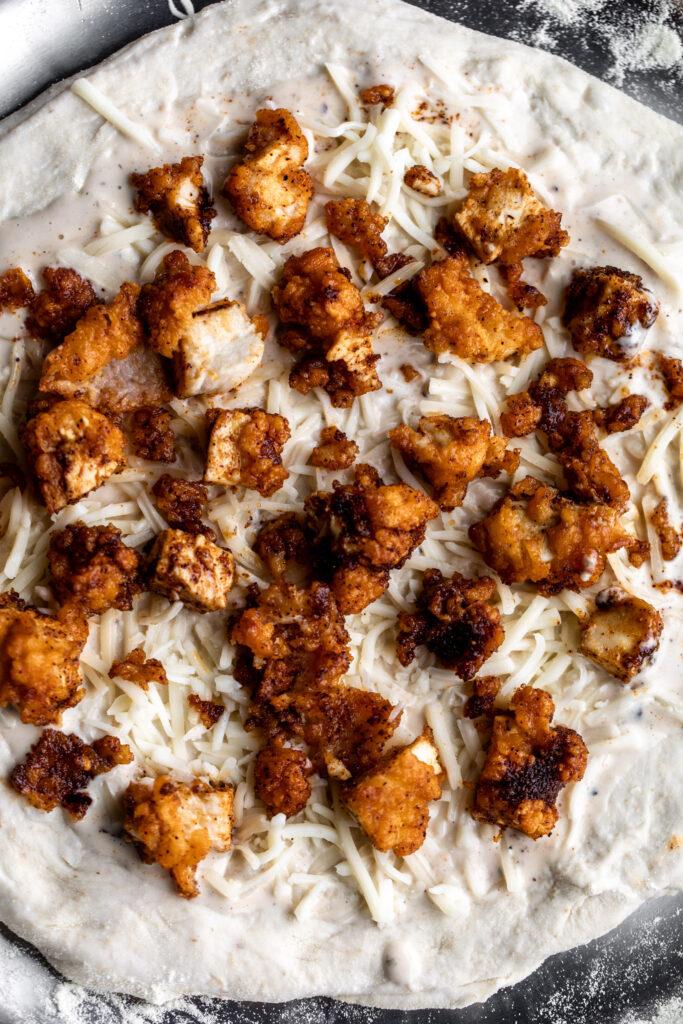 Nashville Hot Chicken Pizza Recipe